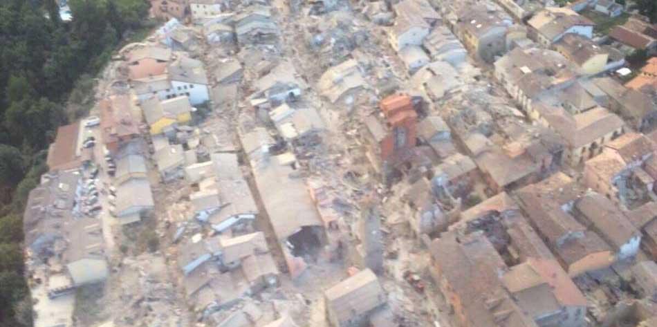 terremoto centro amatrice alto lazio