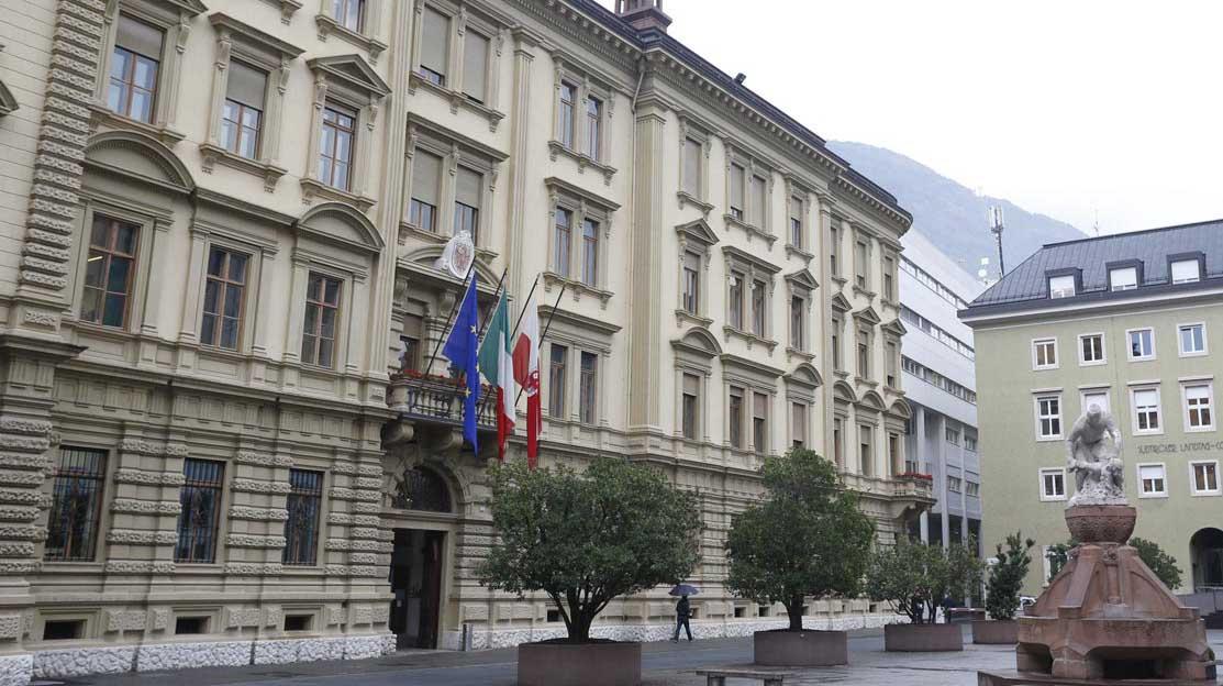 bilancio 2020 Provincia bolzano palazzo sede