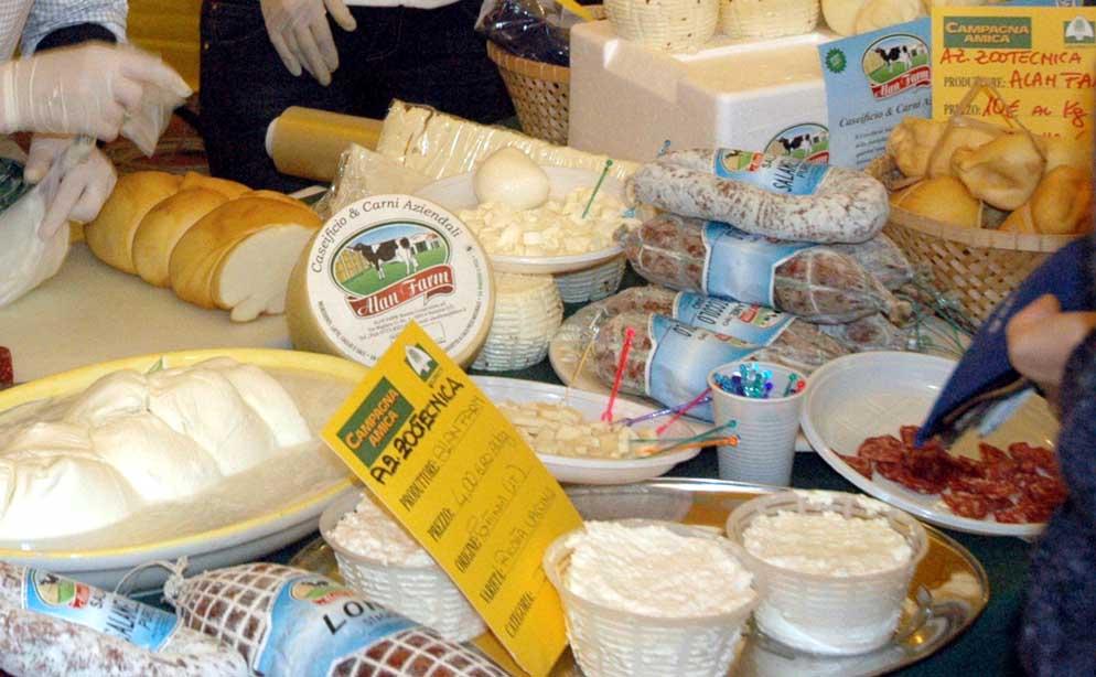 formaggi italiani Campagna Amica