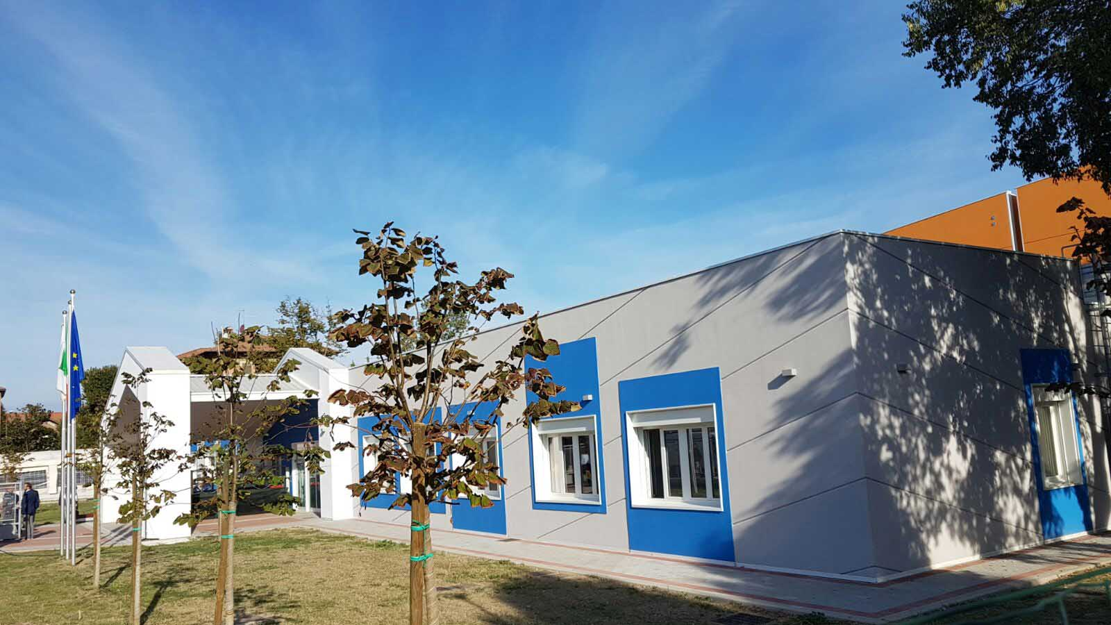 Emila Romagna nuova Scuola Piumazzo