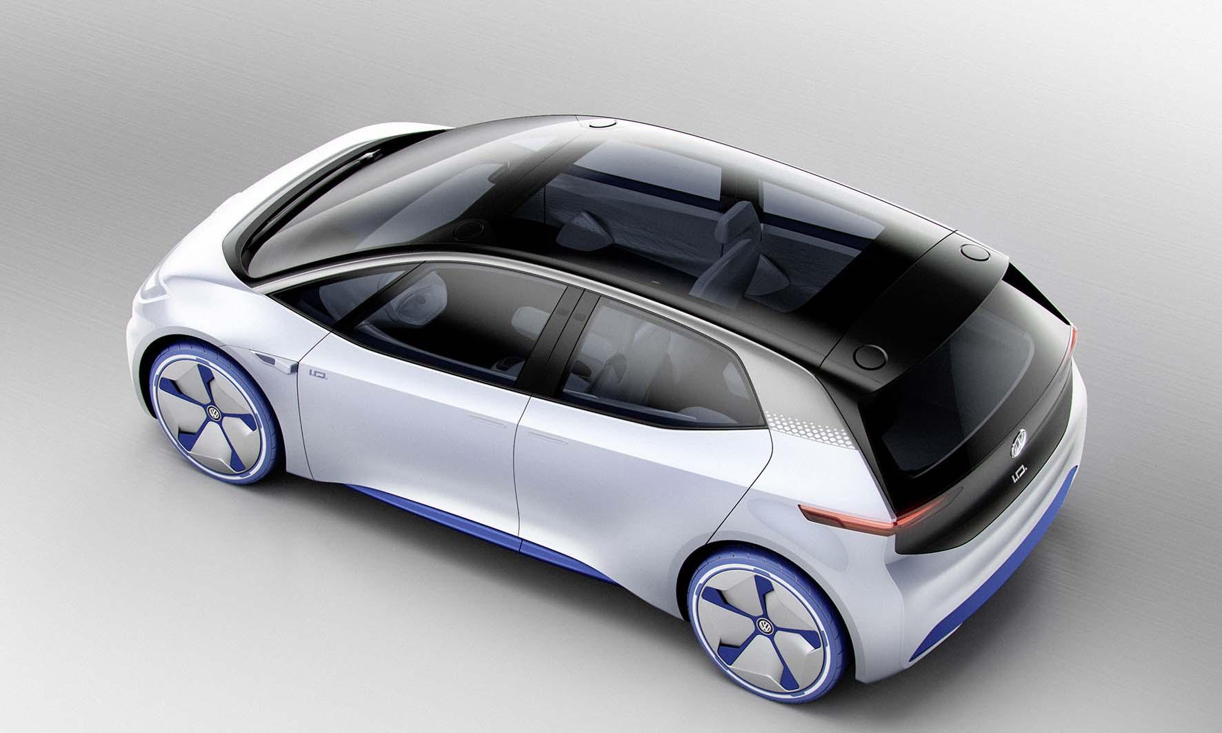 Volkswagen prototipo elettrico ID postlat alto