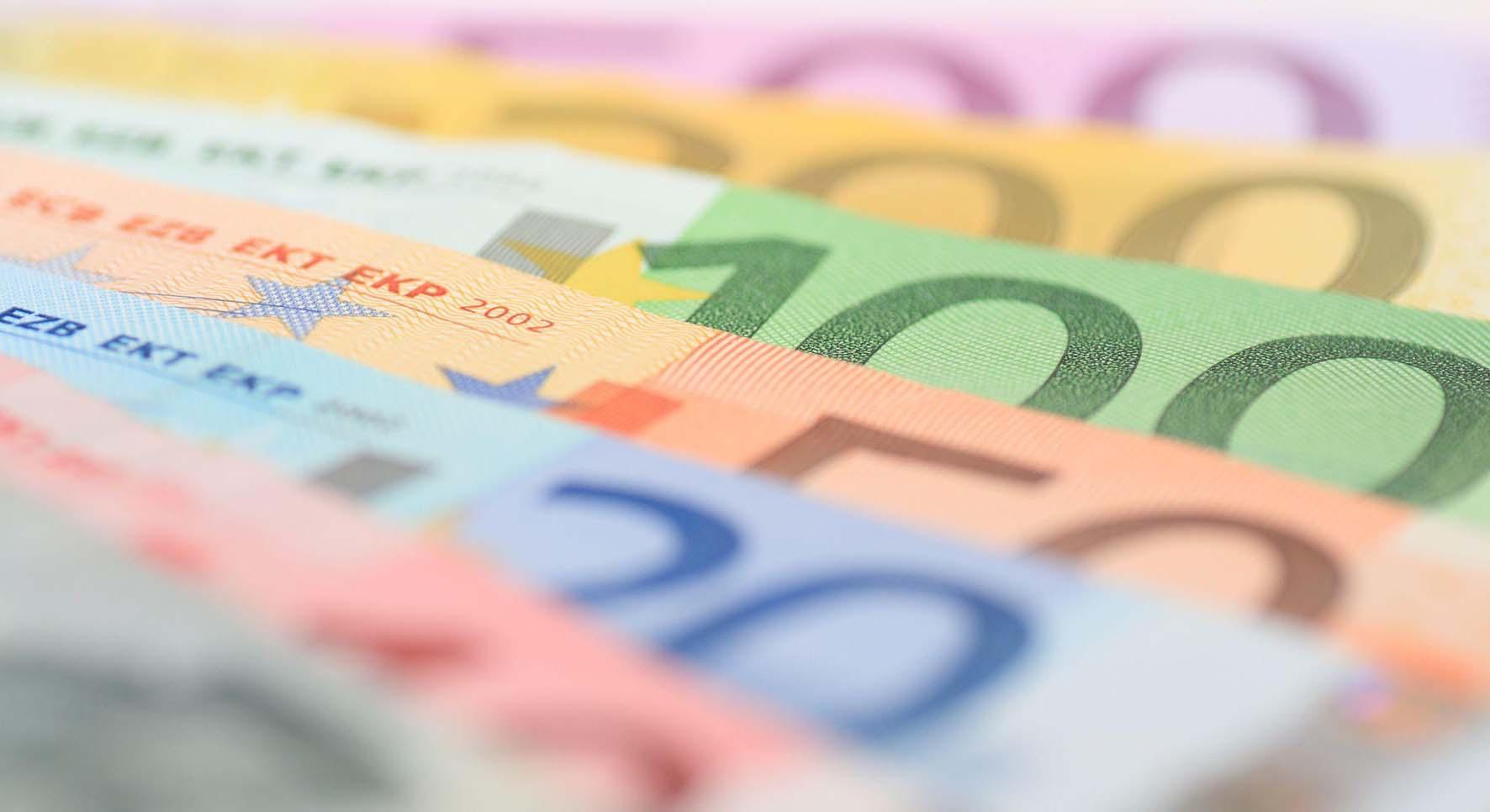 biglietti euro soldi