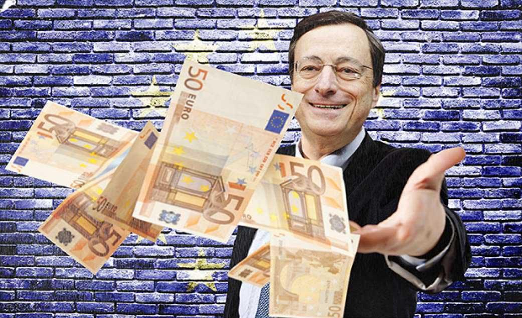 draghi euro bazooka bce biglietti 50 euro quantitative easing