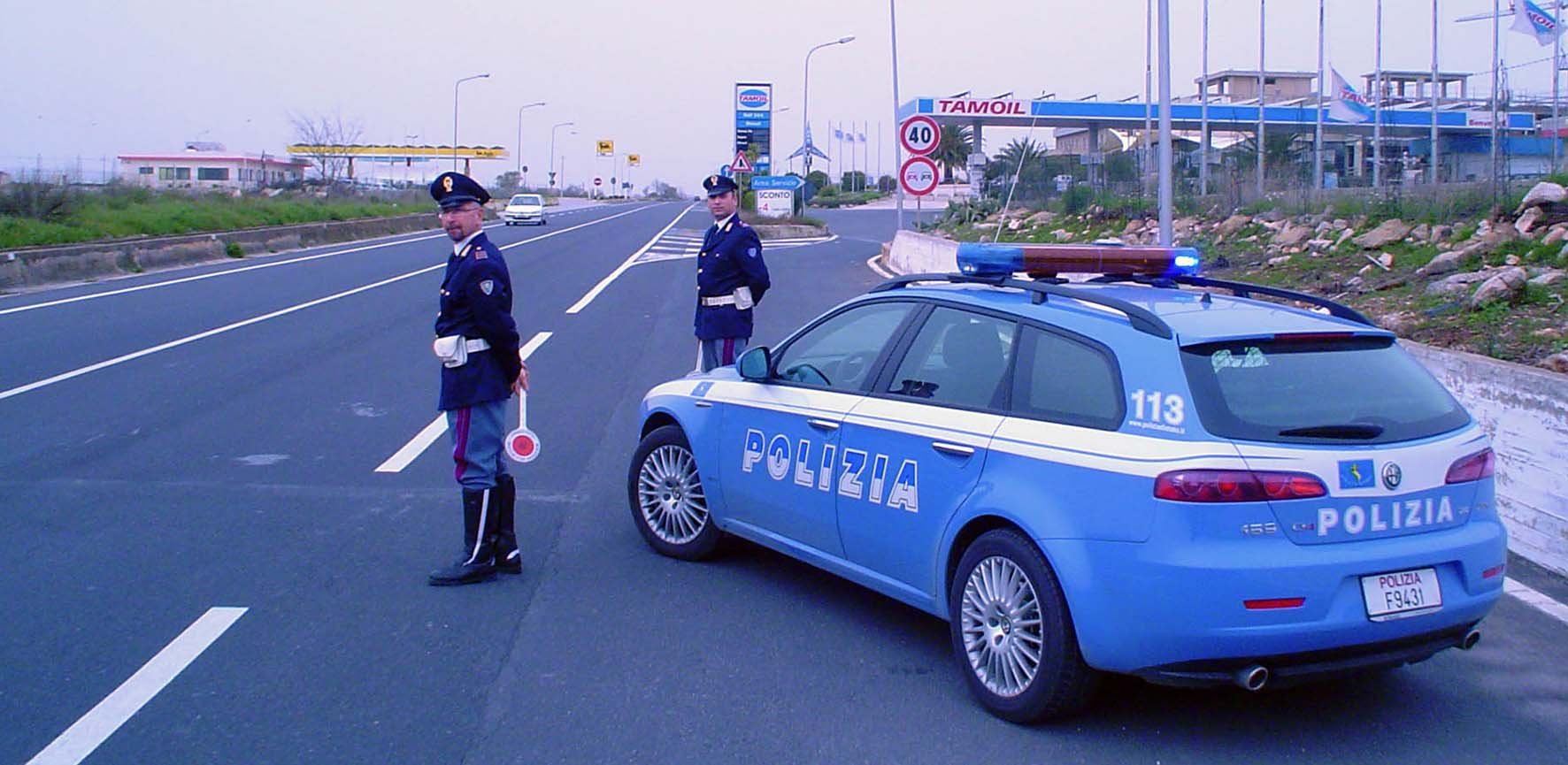 polizia stradale controllo 2
