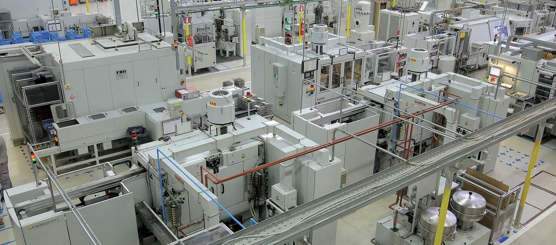 impennata dei prezzi Bosch 2011 impianto Bari apparecchiature industriali