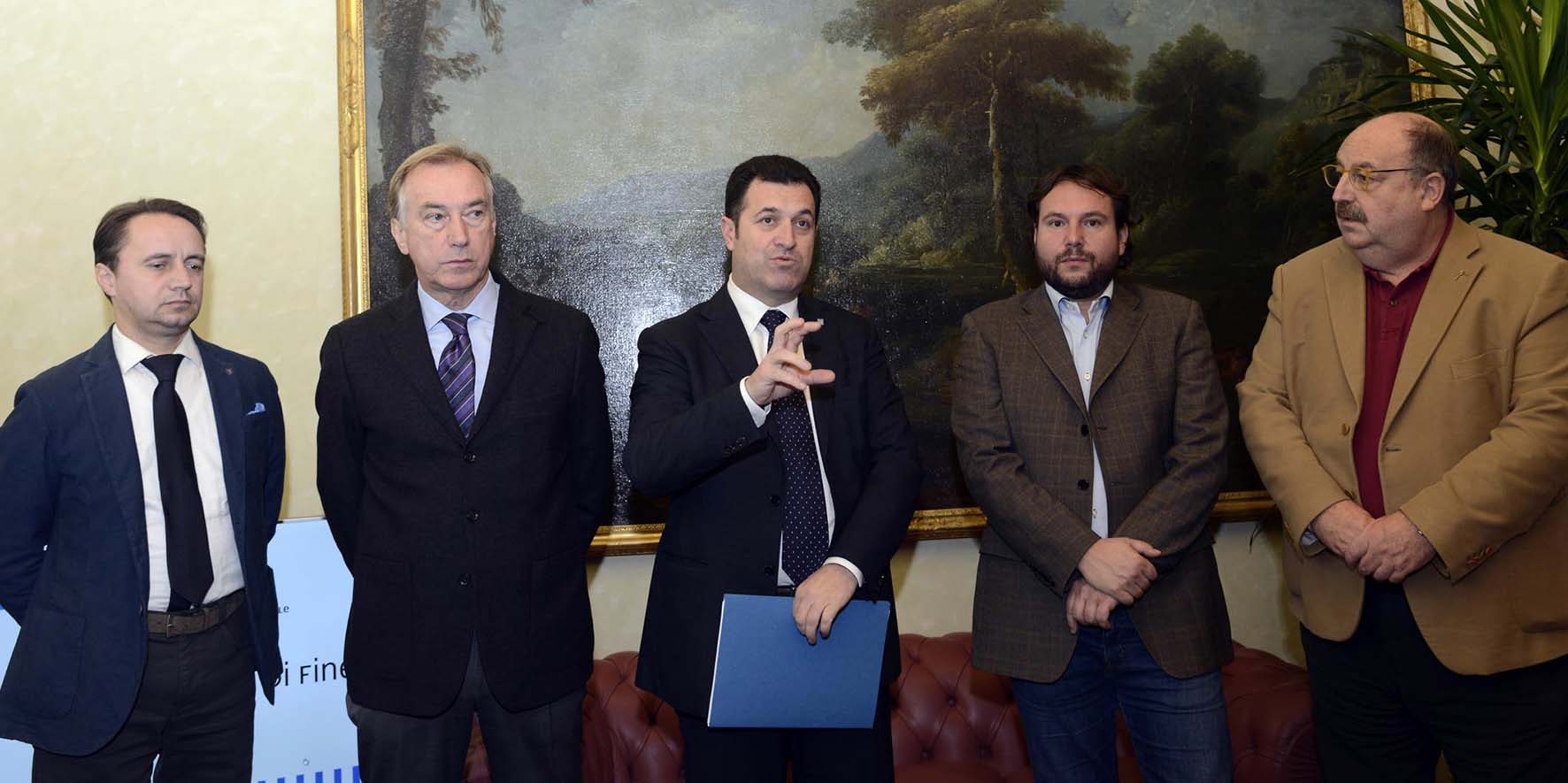 consiglio regionae fvg conferenza stampa bilancio fien anno iacop con ufficio di presidenza