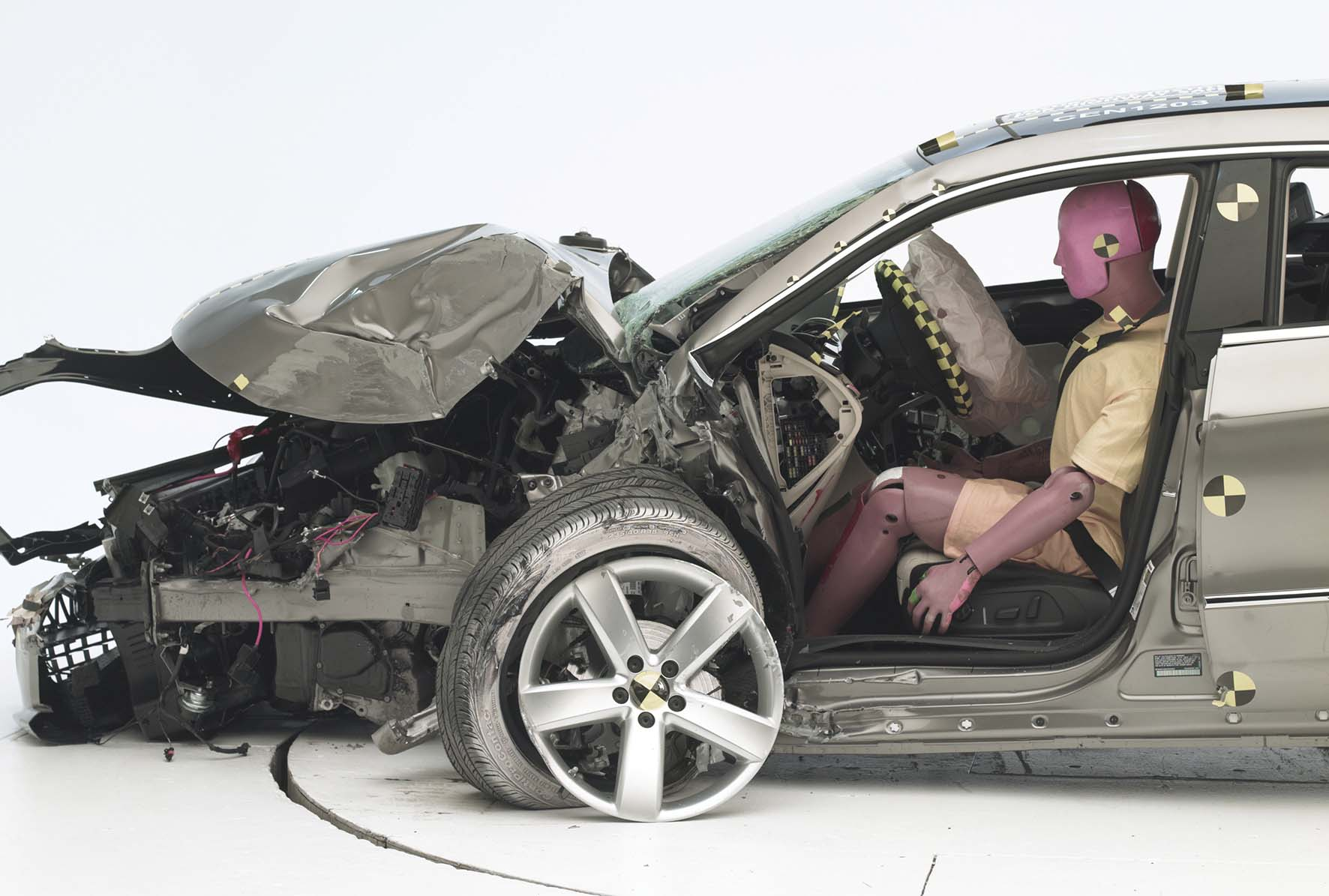 crash test Vw CC 3