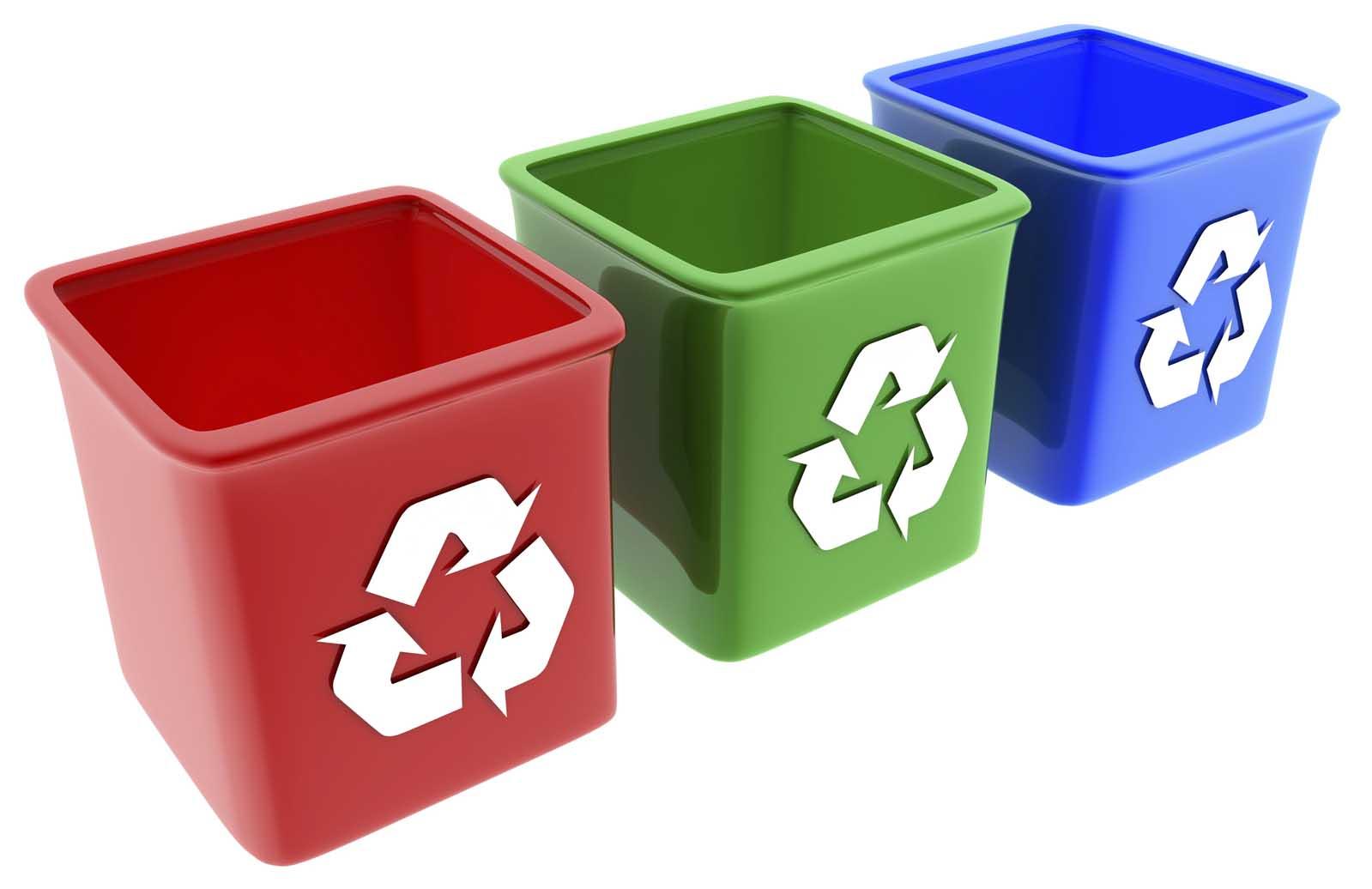 rifiuti raccolta differenziata contenitori iStock
