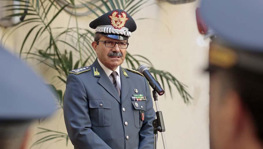 Giuseppe Vicanolo generale Gdf NordOvest e NordEst 2