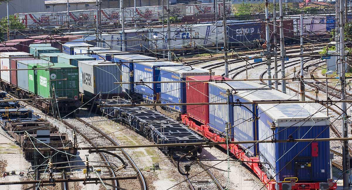 trieste rail port scalo ferroviario composizione treno merci container