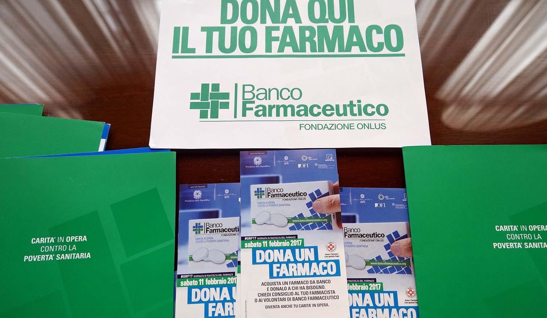 BANCO FARMACEUTICO MATERIALI