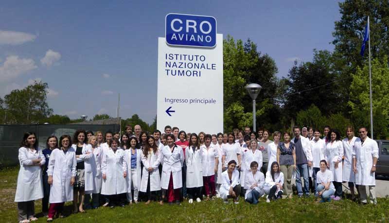CRO Aviano gruppo giovani ricercatori