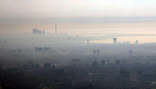 inquinamento tumori smog cancerogeno adenocarcinoma polmoni