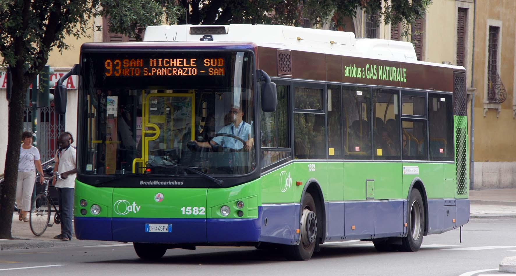ATV autobus gas naturale