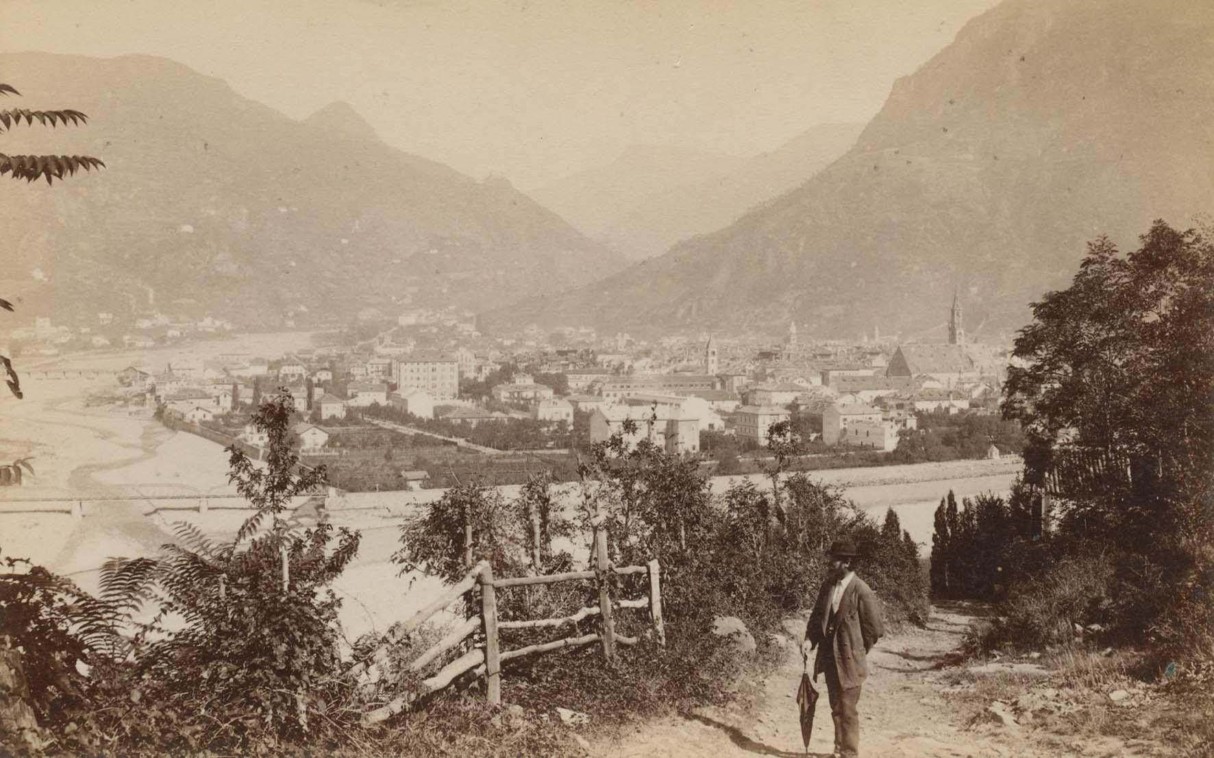 foto storiche Veduta Bolzano 1890