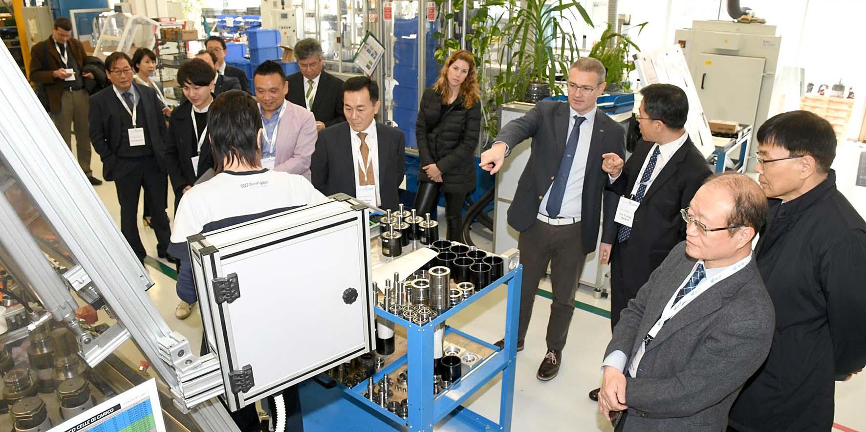 trentino sviluppo visita delegazione corea