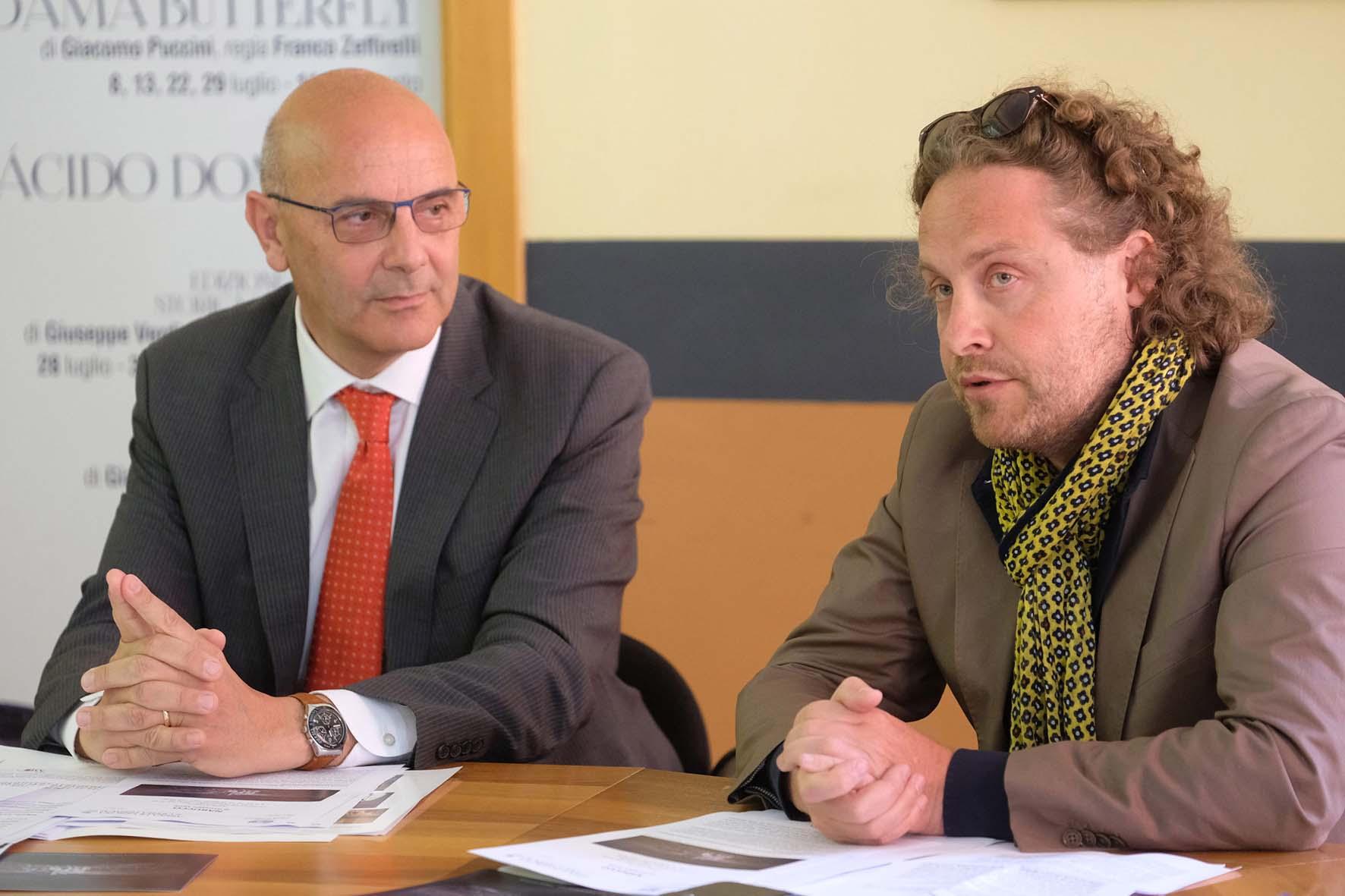 Arena verona 2017 Conferenza stampa Nabucco Polo Bernard FotoEnnevi 7638