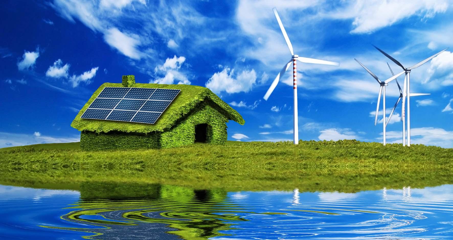 energia pulita panneli fv aerogeneratori