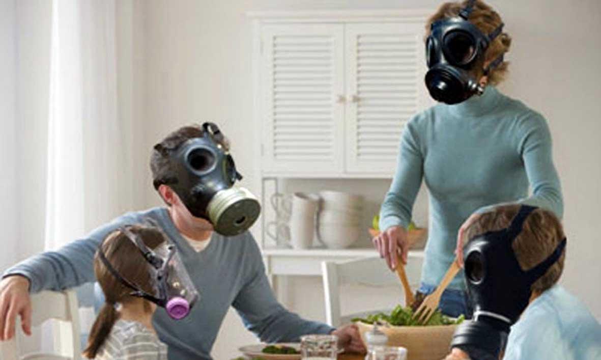 Inquinamento indoor maschere antigas