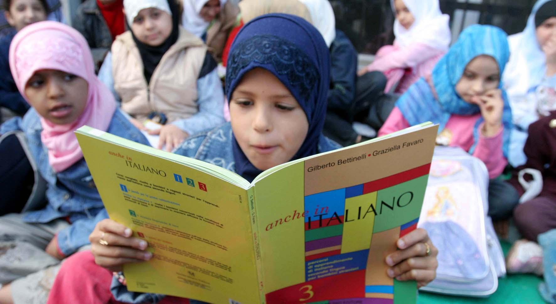 immigrazione scuola bambina islamica