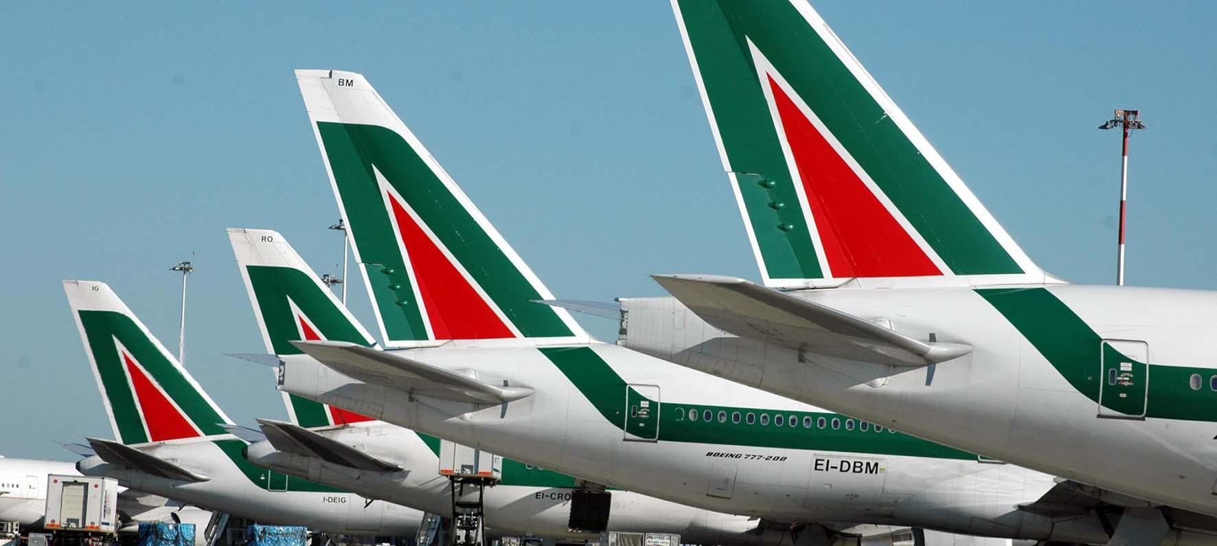 alitalia code aerei