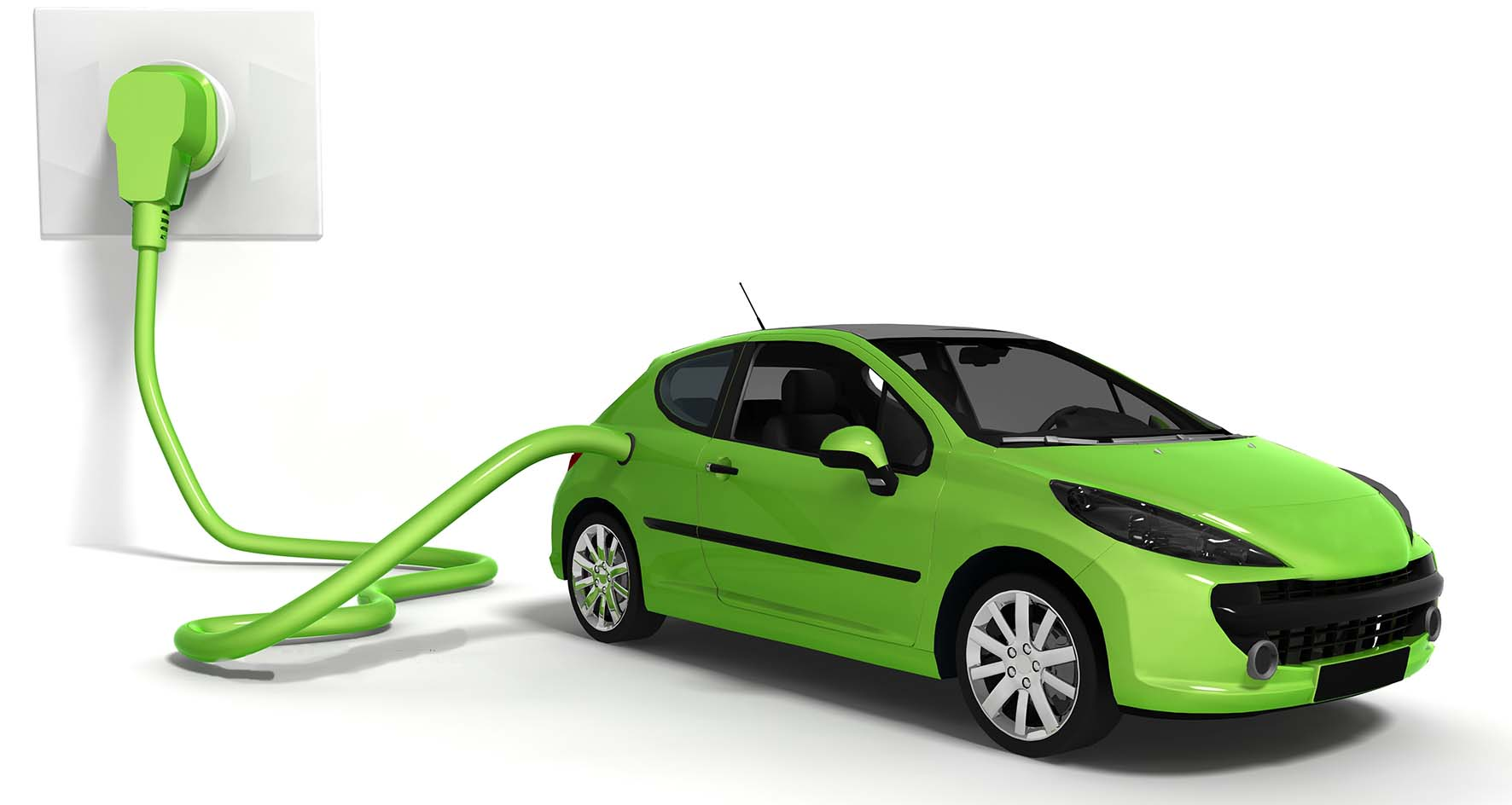 auto elettrica grafica
