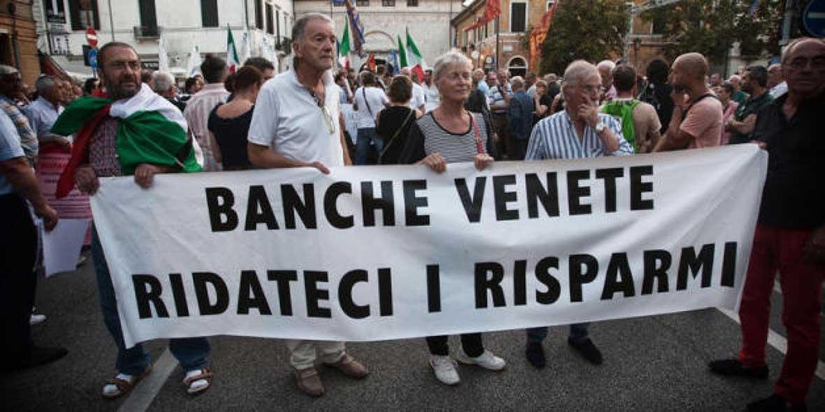 crisi banche protesta risparmiatori 2