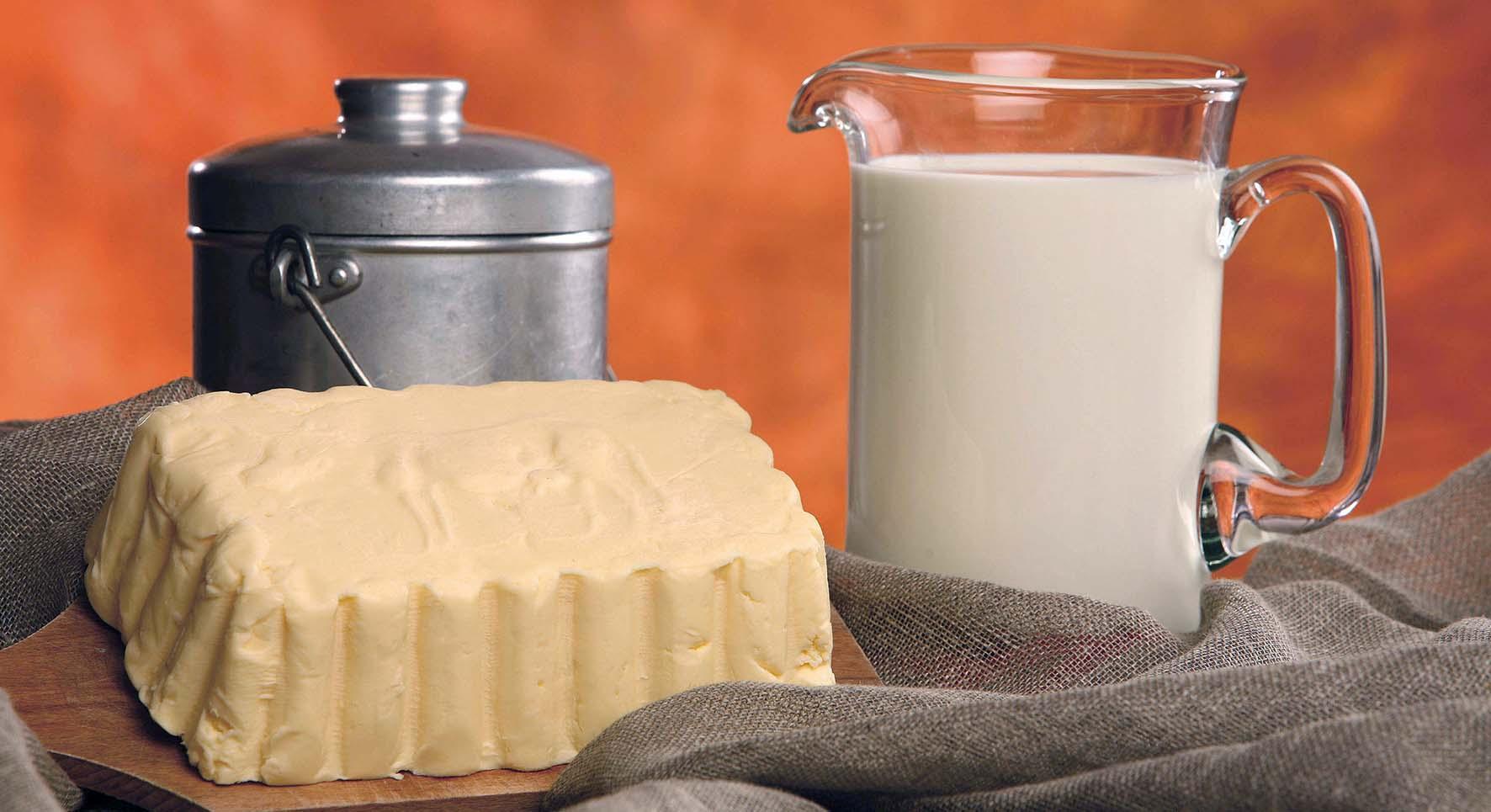 panetto burro brocca latte