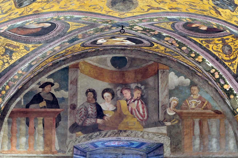 Fogolino Refettorio clesiano Castello del Buonconsiglio 2