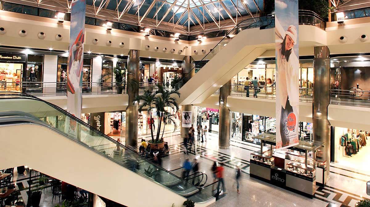 centro commericale negozi