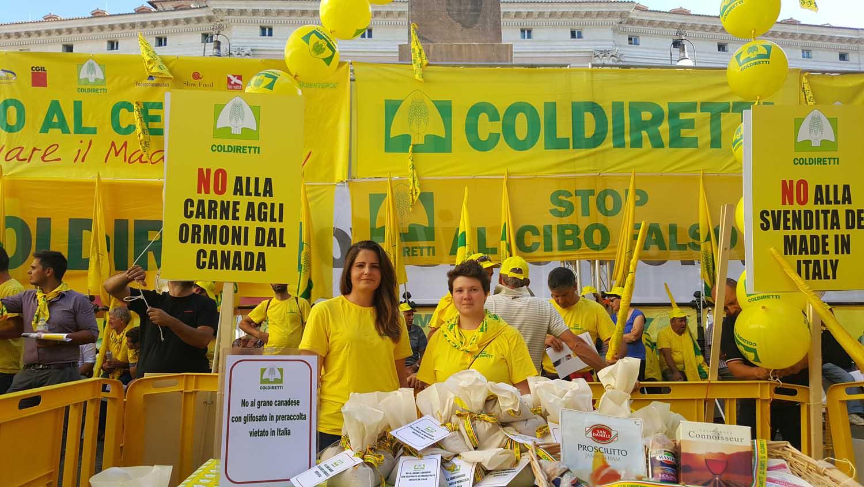 coldiretti campagna no ceta Roma protesta 2