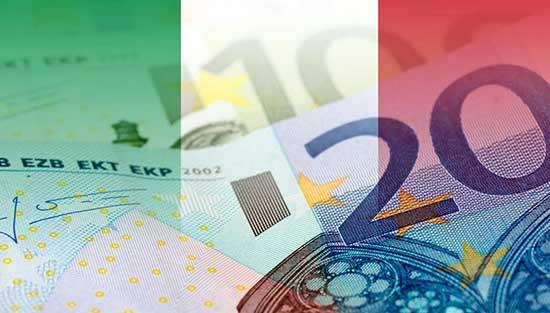 debito pubblico euro soldi tricolore