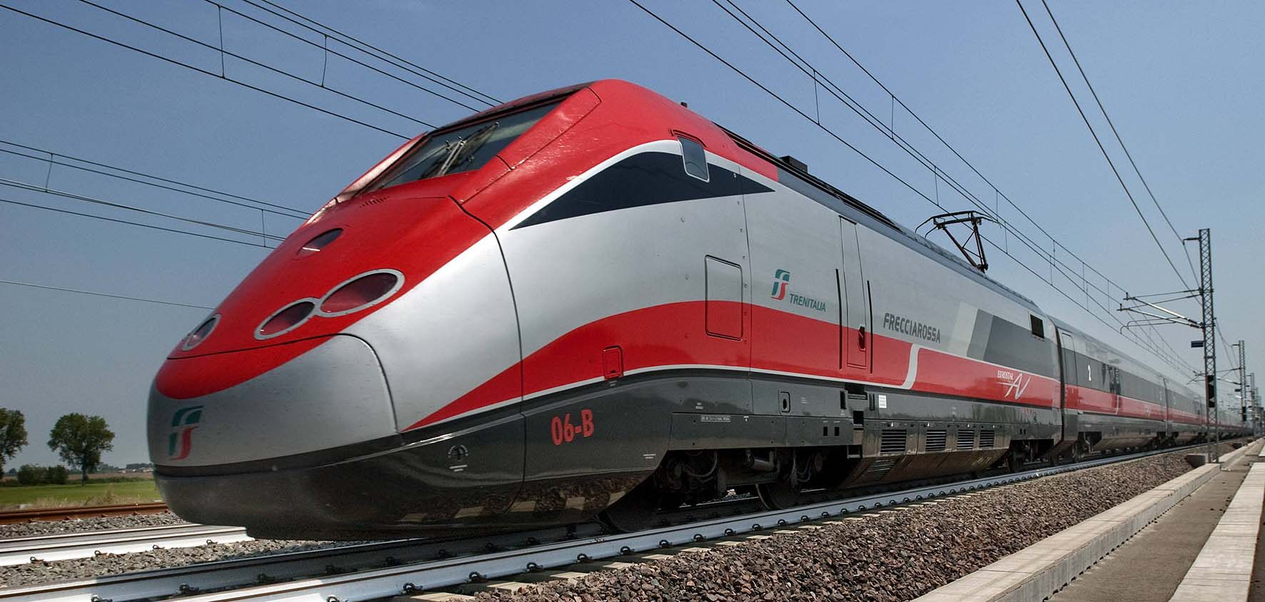 treno FS alta velocità frecciarossa