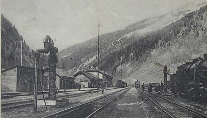 Stazione ferrovia Brennero anni20