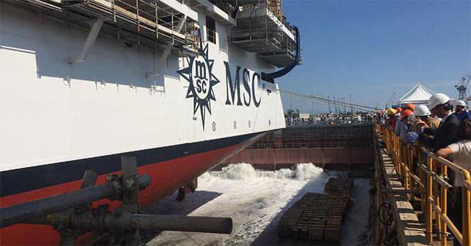 msc seaside flood