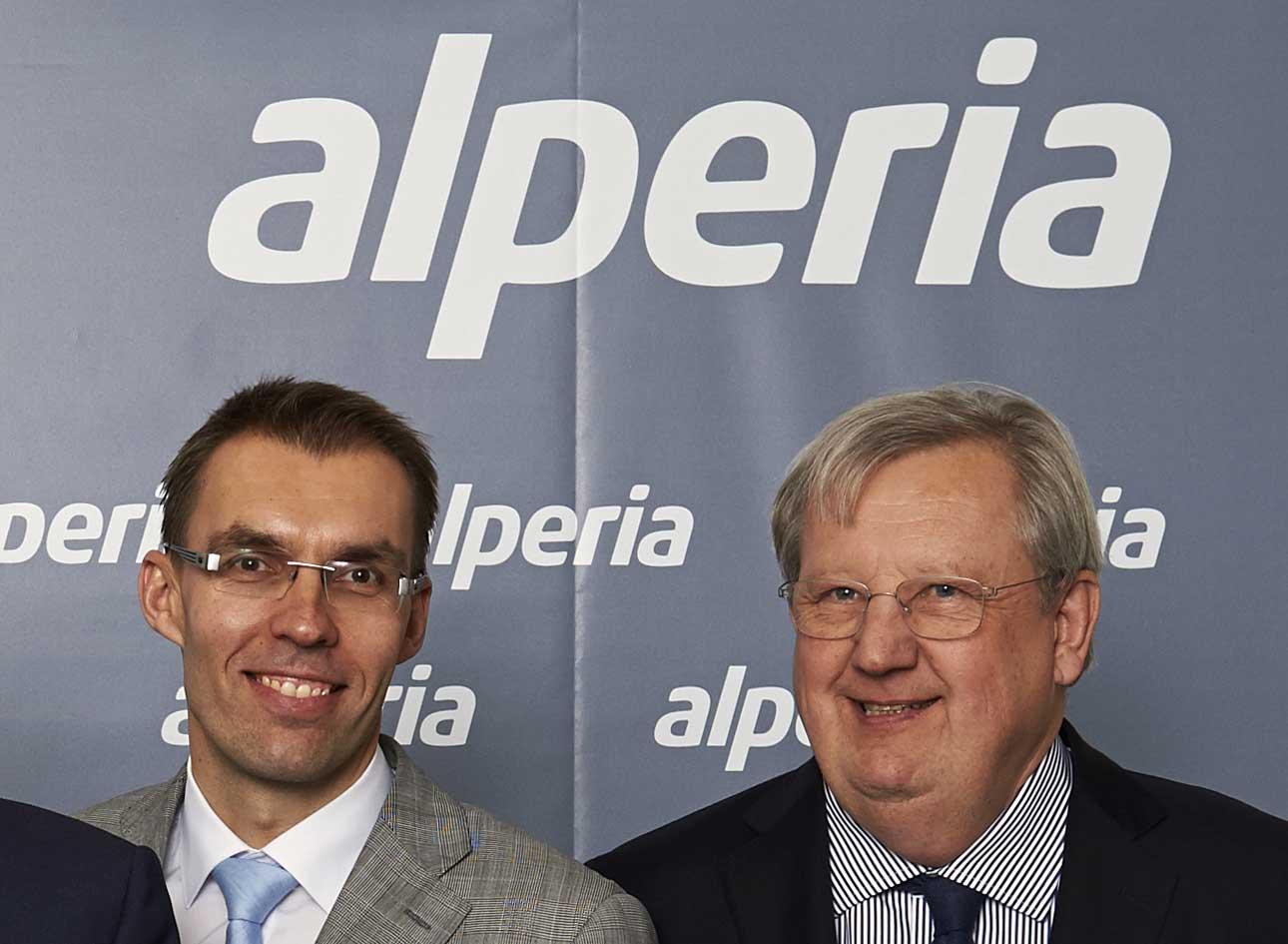 Alperia Wolfram Sparber e Johann Wohlfarter