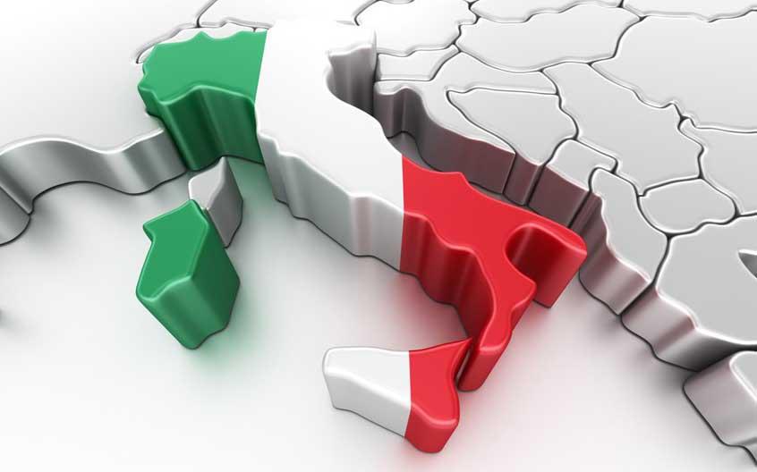 italia tricolore 3d penisola stivale belpaese