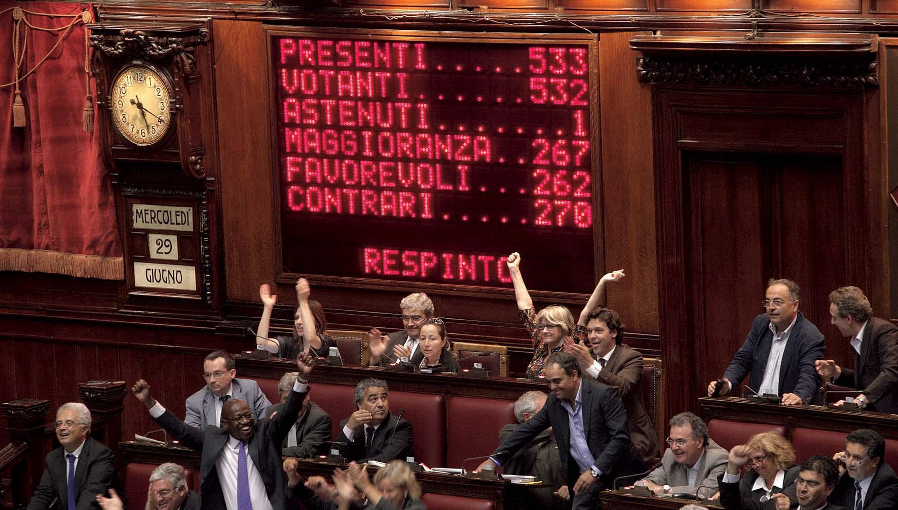 parlamento seduta camera deputati votazione