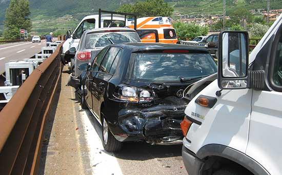 A22 Autobrennero incidente tamponamento