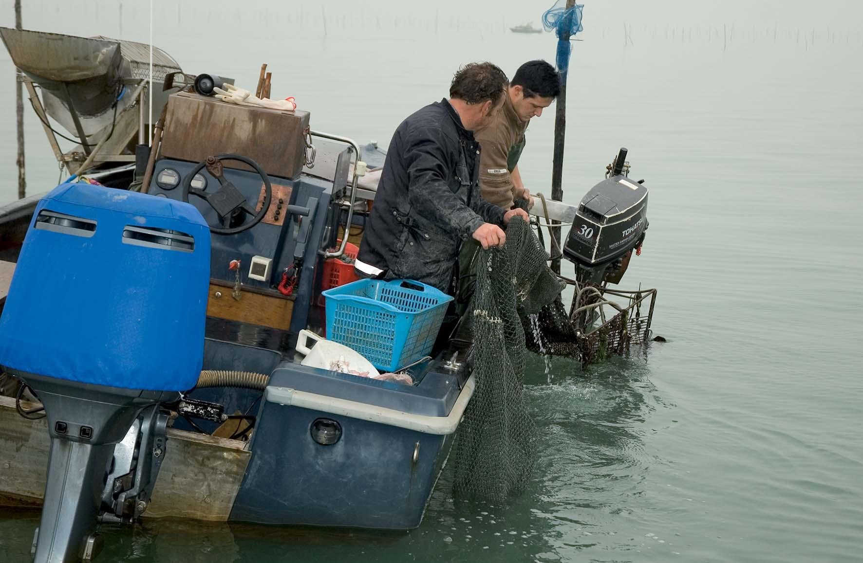 Argav Laguna Venezia pescatori vongole 2