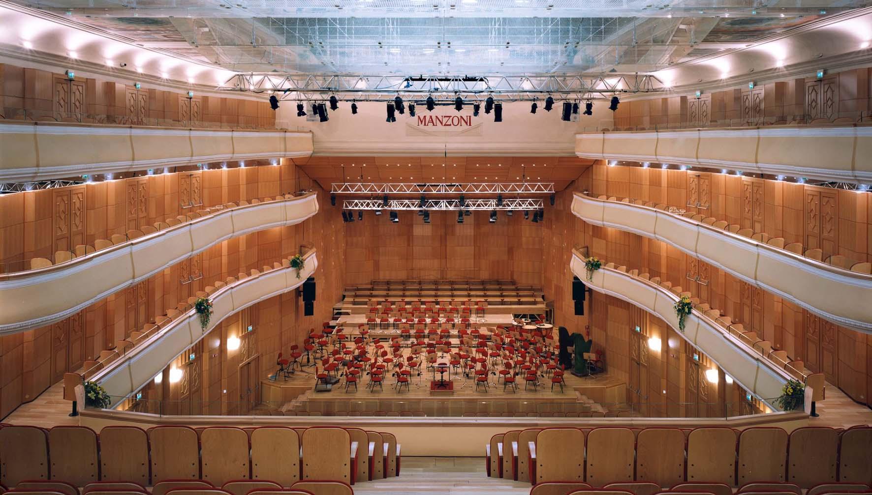 teatro comunale di bologna Auditorium Teatro manzoni bologna