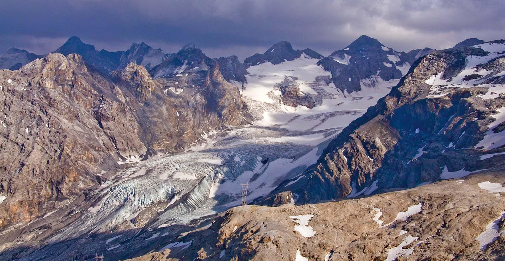 Stelvio 2010 ghiacciaio ortles