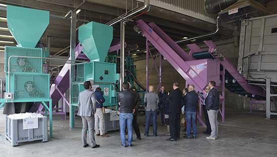 contarina spresiano impianto riciclaggio pannolini assorbenti fater