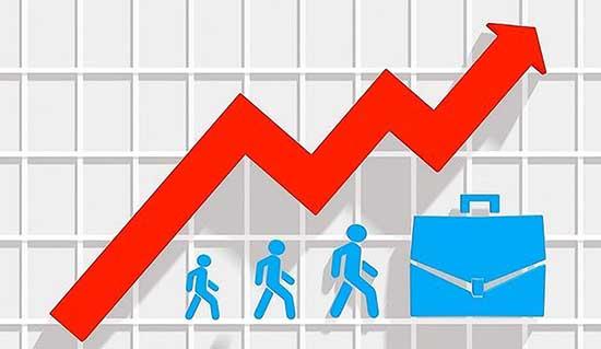 crescita occupazione indice grafico