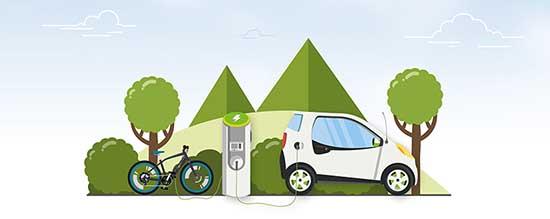 mobilità elettrica grafica
