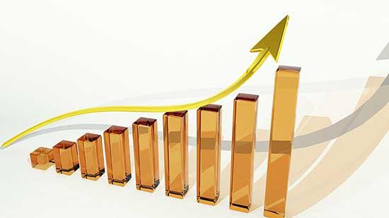 grafico indice crescita trasparenza