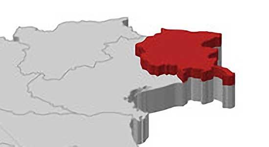mappa 3d triveneto friuli