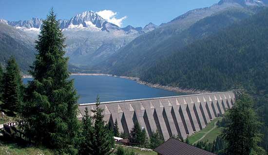 concessioni idroelettriche enel diga malga bissina