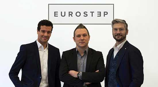 eurostep soci da sx Fabio Bordignon Simone Bittoto e Giovanni Marconato