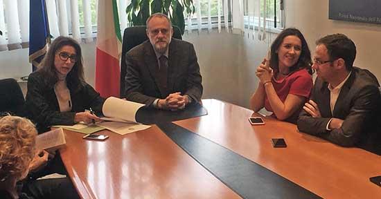 firma convenzione garda Roma